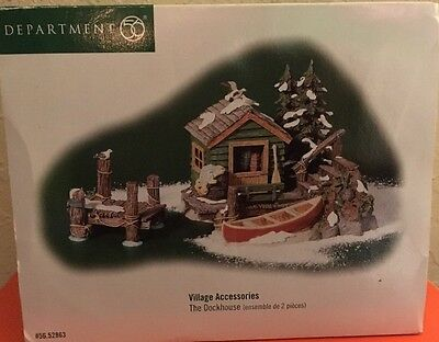Department 56 Dock house