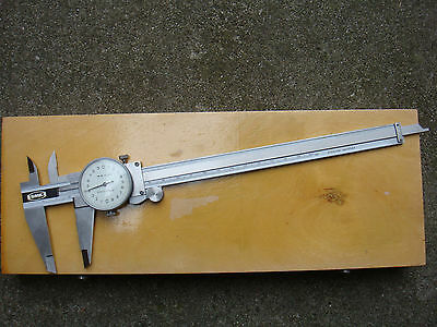 "Vernier Calipers 200mm x0.02mm (OR 8"" x0.001"") with Dial"