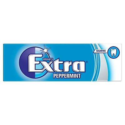 WRIGLEY'S EXTRA PEPPERMINT SugarFree Gum - 10 Pieces