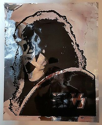 1977 KISS Mylar Poster - Ace Frehley