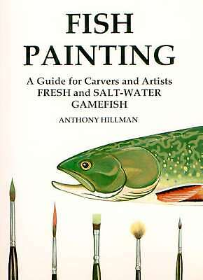 Fish Decoy Painting: A. Hillman Signed Book