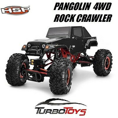 New - Hsp Rc 1/10 2.4Ghz 4Wd 2Ws Jeep Pangolin Rock Crawler 94180 10314 - Rtr -