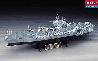 Brand New ACADEMY 1/800 US KITTY HAWK CARRIER Plastic Ship Model Kit ACA-14210