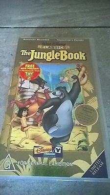 The Jungle Book - collectors edition VHS