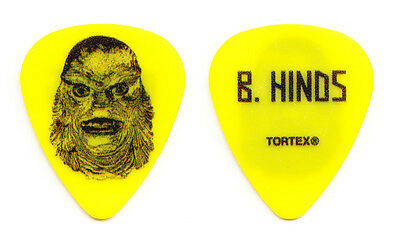 Mastodon Brent Hinds Creature From The Black Lagoon Guitar Pick - 2014 Tour