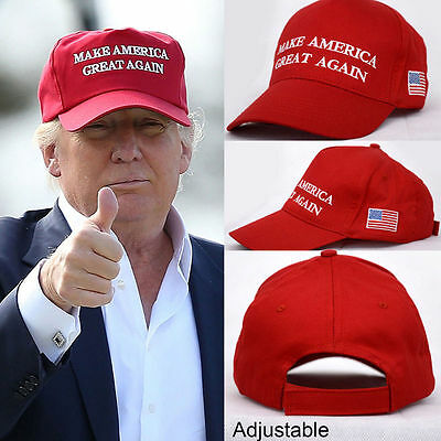 2016 Make America Great Again Hat Donald Trump Republican Adjustable Mesh Cap J