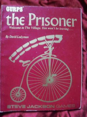 VERY RARE - GURPS THE PRISONER. Role Playing Game Unique and Unusual RPG OOP