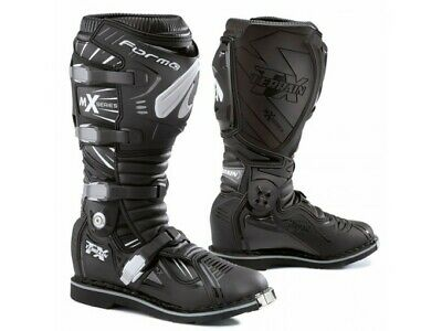 Bottes Forma Off-Road Motocross MX Terrain TX Noir