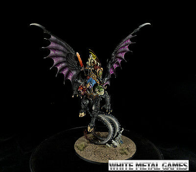 Warhammer Painted Archaon Everchosen Commission Painting Service Chaos Lord SVC