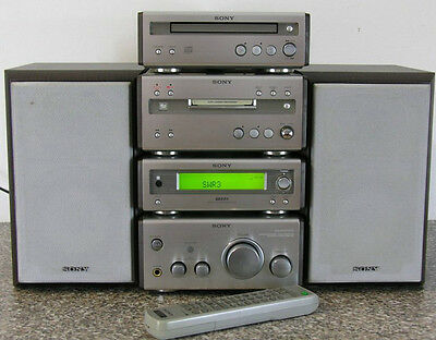 Sony CMT-SP55MD   FULL ''4'' TIER HI-FI COMPONENT SYSTEM CD/TUNER/AMP/MD
