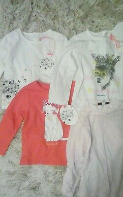 4 tops billieblush and Hugo boss 9months baby girl, new with tags