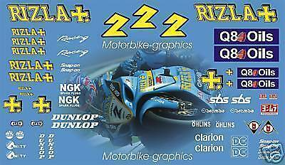 BSB Rizla 2004 Race Decals Graphics Stickers
