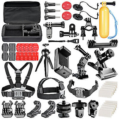 Neewer 52-In-1 Pro Outdoor Sport Accessory Kit for GoPro iPhone 6s Plus 6 5