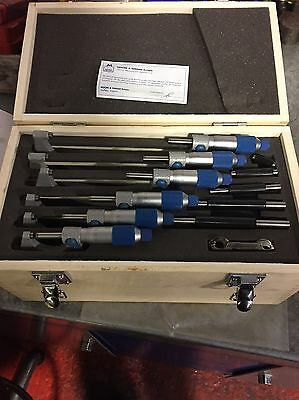 Moore And Wright Micrometers 0-150mm Set