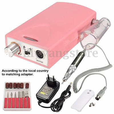 Rechargeable Portable Electric Nail Drill Machine Cordless Manicure Pedicure Set