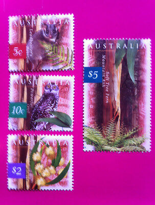 Australia 1996 - NATURE of AUSTRALIA DEFINITIVES - Extremely VFUsed stamps