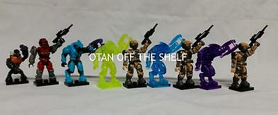 MEGA BLOKS Halo Series 6 Blind pack Common, Rare, Ultra Rare & Mystery figures