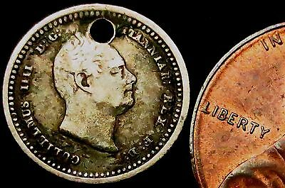 c3: 1832 William IV Silver Twopence - year of The Great Reform Act