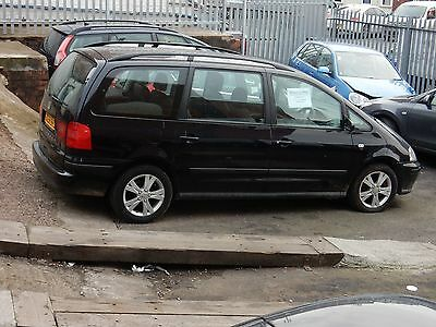 2008 Seat Alhambra  Reference 2.0 Tdi, 7 Seater Mpv, 6 Speed, Spare Or Repair