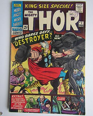 THOR King-Size Special Marvel Comic Vol.1 No.2 1966