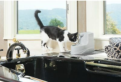 Pet Water Drinking Bowl Automatic Fountain Dog Cat Dispenser Fresh Filtered Wate