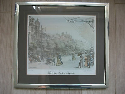 Lord Street Southport Print - No. 210/850 by Denise Hardman - Signed