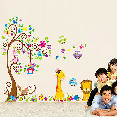 New Family Sweet Tree Removable Wall Stickers Decal Art Nursery Room Decor Mural