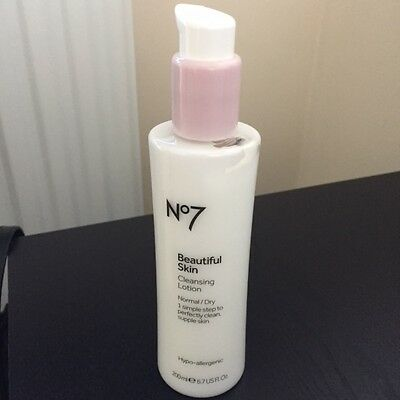 Boots - No 7 Beautiful Skin Cleansing Lotion Normal/Dry 200ml