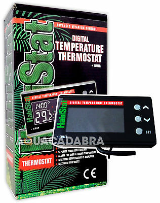 Habistat Digital Temperature Thermostat & Timer Vivarium Heater Reptile Lizard