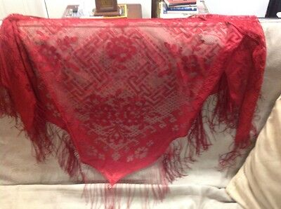 Red & Purple Shawls for those Red Hat Society ladies