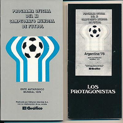 WORLD CUP 1978: Official Tournament brochure 320 pages