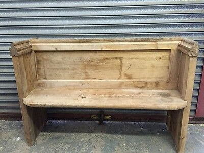 Small Church Pew -   More items listed in our ebay shop