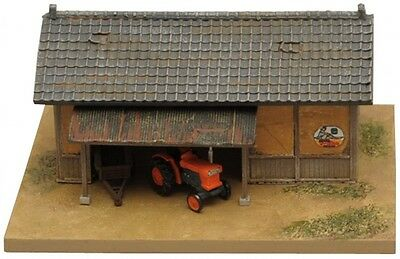 "Tomytec Agricultural Machinery ""Tractor and Cabin A"" 1/150 N scale Komono 070"