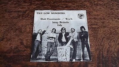"""THE LOW NUMBERS """"Keep Britain Tidy"""" 45rpm 7"""" BIG I/H Records 1976 USA"""