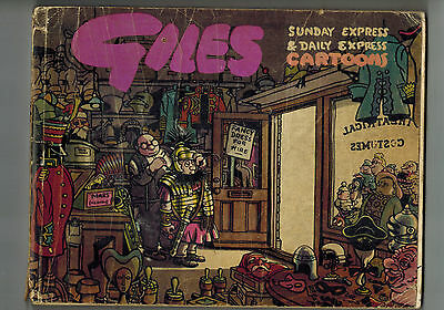 GILES CARTOON ANNUAL No. 4 from 1950