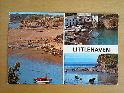 Old Multi View Postcard Of Littlehaven