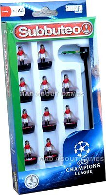 MANCHESTER UNITED UEFA CHAMPIONS LEAGUE Subbuteo Team Football Soccer Figures