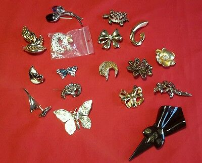 lots de broches vintage