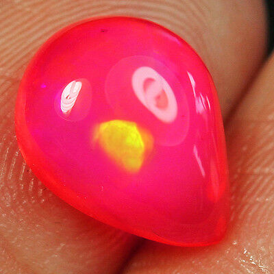 1.8CT Natural Ethiopian Pink Opal Cab Play Of Color USPO154