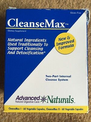 CleanseMax 2 Part Kit Advanced Naturals Cleanse Max