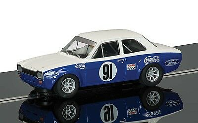 Scalextric 1:32 C3672 Ford Escort Mk1 No.91 Allan Moffat Slot Car *new*