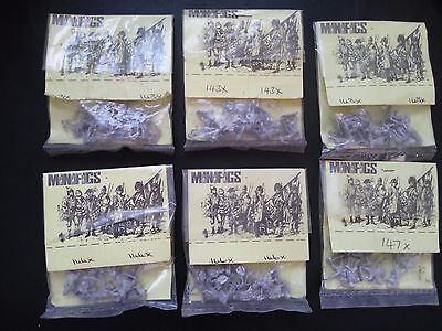 MINIFIGS 15mm 16th CENTURY MOORS Of NORTH AFRICA x 6 packs = 48 figs