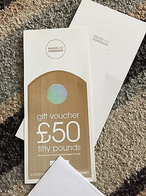 Barker And Stonehouse £50 Voucher