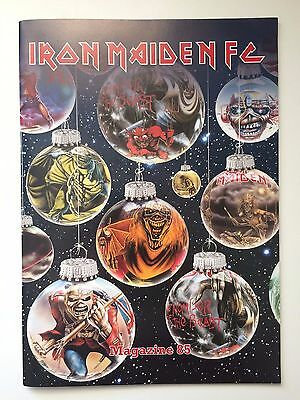 Iron Maiden FC Fan Club Magazine #85 IMFC + Poster + 2009 Christmas Card
