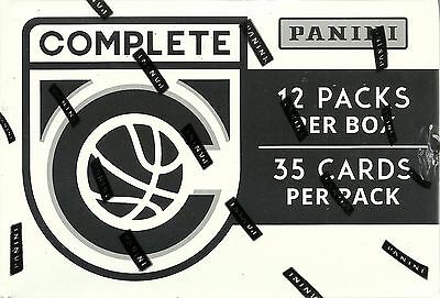 2016-17 Panini COMPLETE NBA Basketball Trading Cards New 12pk Fat Pack Box