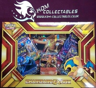 Pokemon Charizard EX Collection box New / Sealed - Fast Dispatch