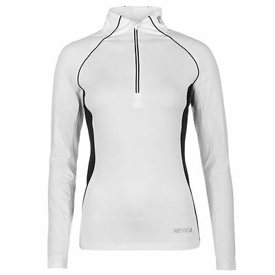 Nevica Ladies Thermal Top Flatlock Elastic Long Sleeve High Neck Zipped Clothing