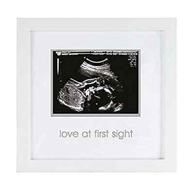 Pearhead Love at First Sight Sonogram Keepsake Frame - Perfect Gift for Expectin