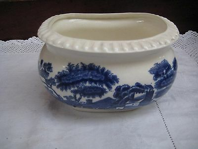 Vintage Copeland Spode's Tower Blue & White Deep Dish/Bowl