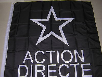 100% New Reproduced Action directe armed group France Flag Ensign 120X120cm